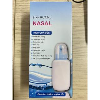 Bình Rửa Mũi Cho Bé Nasal 240Ml +5 Gói Muối Rửa Mũi XoangLàm Sạch An Toàn Khi Sử Dụng thumbnail