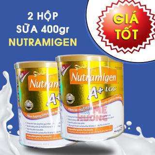 Combo 2 hộp Sữa Nutramigen A+ LGG 400g cho trẻ 0-12 tháng tuổi HSD mới - [Bách Hóa Mẹ Hương] thumbnail