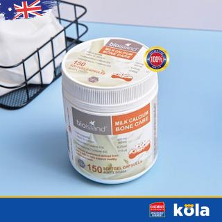 Viên uống Canxi sữa Bio Island Milk Calcium Bone Care 150 Viên thumbnail