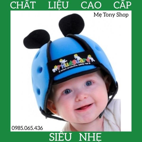 Giá bán [Cao Cấp-Siêu Nhẹ] Mũ Bảo Hiểm Cho Bé Tập Ngồi,Bò,Đi ...(Từ 6 Tháng Đến 5 Tuổi)