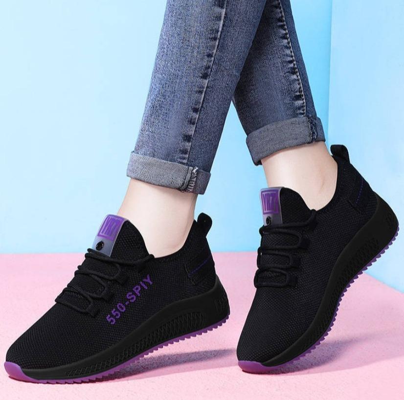 Giầy thể thao nữ, giày sneaker nữ buộc dây V202 giá rẻ