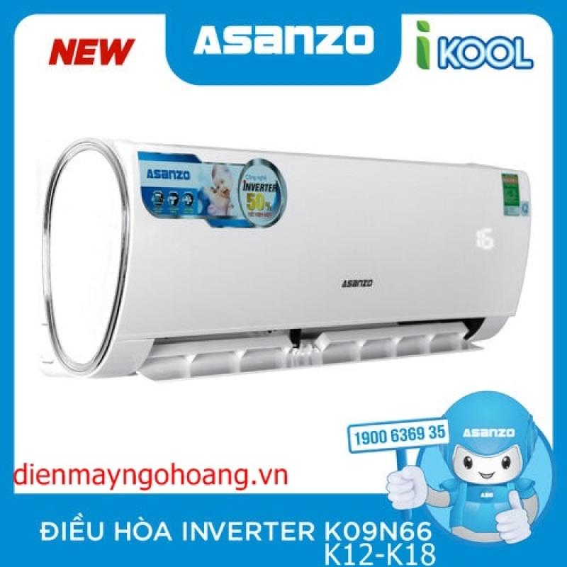 Máy lạnh Asanzo Inverter 2 HP K18N66