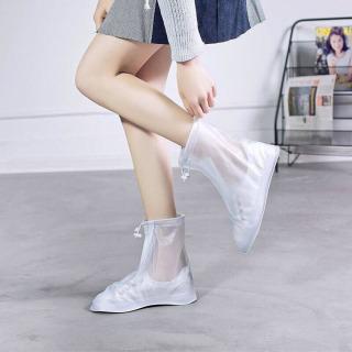 Giày đi mưa dáng bệt không ngấm nước thông minh chống trượt siêu bền 5