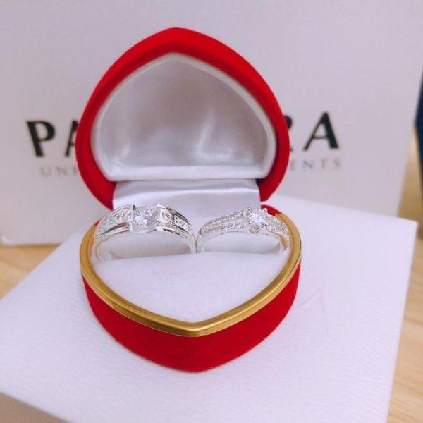Nhẫn đôi nhẫn cặp tình nhân bạc 925, chất liệu cao cấp, các họa tiết sắc sảo, thiết kế đa dạng phong phú, mẫu mã mới bắt kịp xu hướng