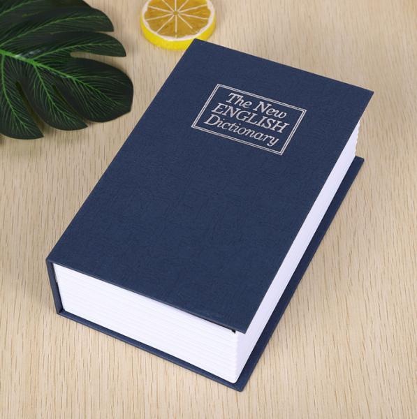Két sắt hình quyển sách loại nhỏ 11.5x8x4.5cm