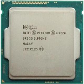 Cpu Intel G3220 3.1Ghz socket 1150 chạy main H81 và B85 tặng kèm fan thumbnail