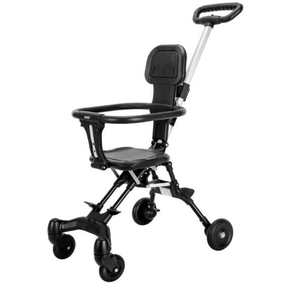 [siêu rẻ] Xe đẩy em bé du lịch gấp gọn đảo chiều siêu nhẹ - V1 qmart