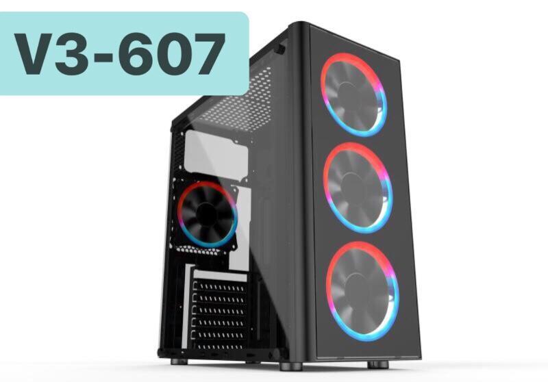 Case thùng máy tính chuyên Gamming V3 VSP 607 không tặng đèn chỉ vỏ