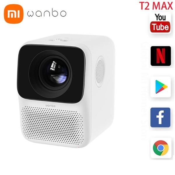 Bảng giá Máy chiếu mini XIAOMI WANBO T2 FREE / T2 Max (kết nối WIFI) cực rõ nét, mang đến sự tiện lợi cho gia đình