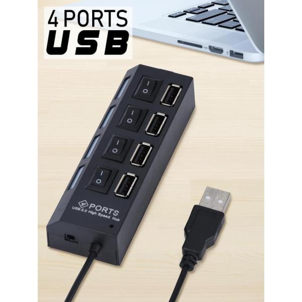 Bảng giá Hub USB 4 port có công tắc Tắt / Mở Phong Vũ