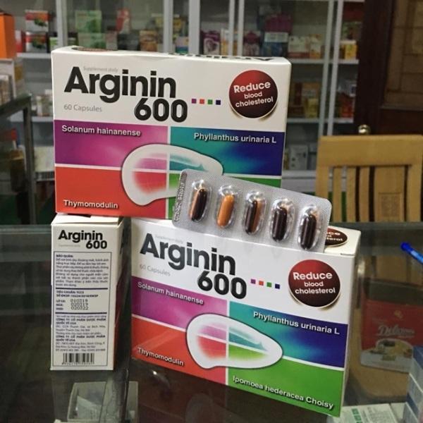 Arginin 600 Giúp tăng cường chức năng gan hiệu quả