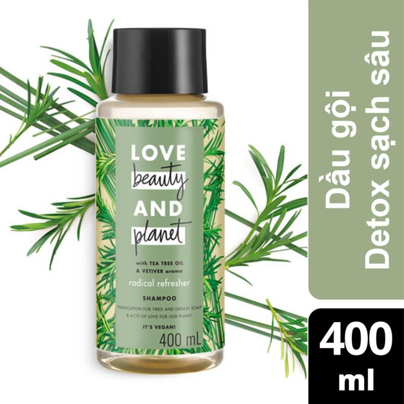 Dầu gội detox tóc Love Beauty And Planet Radical Refresher 400ml giá rẻ