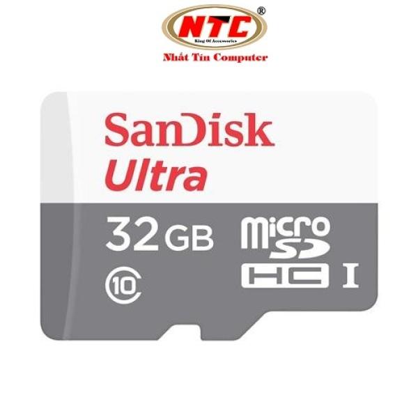 Thẻ nhớ MicroSDHC SanDisk Ultra 533X 32GB 80MB/s (Bạc) - Không Box