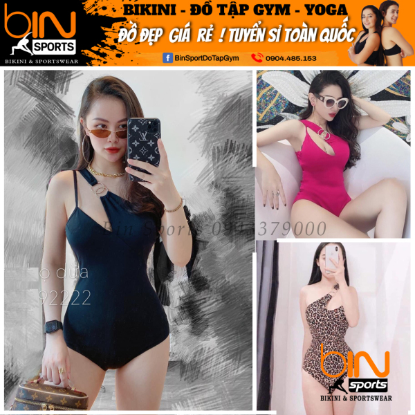 Nơi bán Bộ Bơi Nữ Một Mảnh Sexy Mặc Đi Biển Bin Sports BHV055