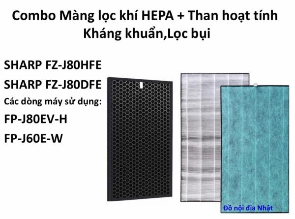 Bảng giá Combo màng lọc Sharp  FP-J60E-W và FP-J80EV-H