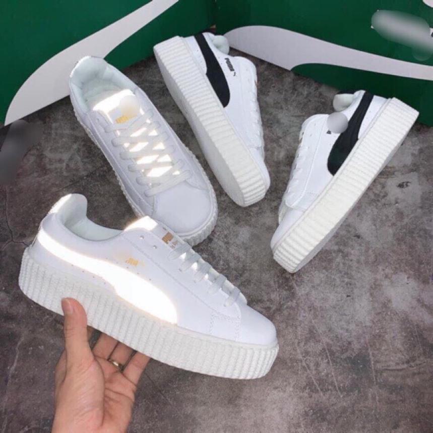 Giày sneaker nữ PM hàng VNXK, giày thể thao nữ mới về giá rẻ
