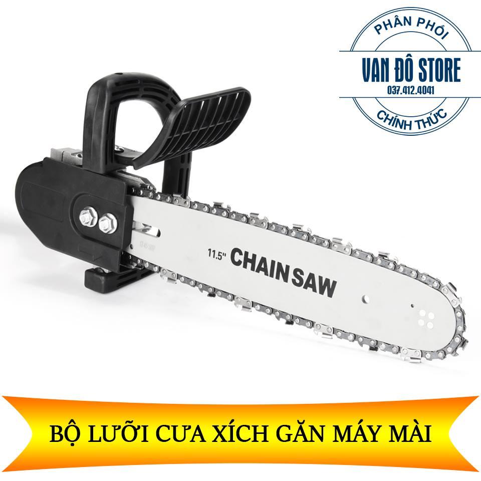 [ Trọn bộ ] Máy mài Makita 9556 + Lưỡi cưa xích Chainsaw - Hàng chuẩn - Chất lượng tốt