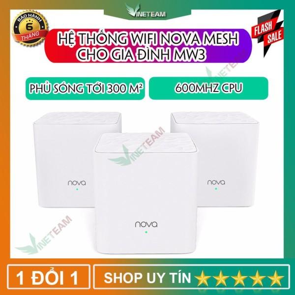 Bảng giá Tenda Nova MW3 / MW6 - Ghép Nối Không Dây Cho Vùng Phổ Sóng Rộng Hơn 300m2 -Chính hãng mới 100% -dc4014 Phong Vũ