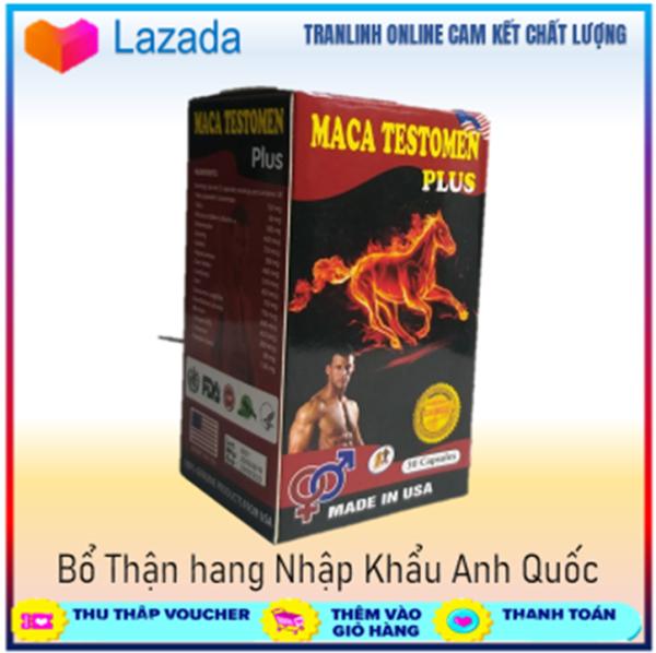 MACA Testomen Plus - Tăng Cường Sinh Lực - Bổ Thận Tráng Dương - Hàng Nhập Khẩu