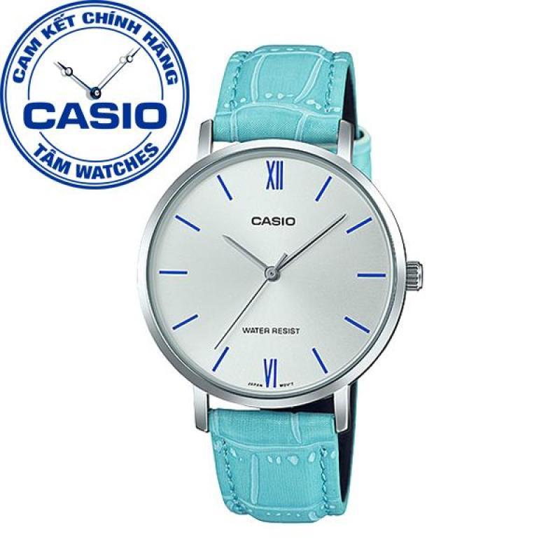 Đồng hồ nữ dây da Casio Standard Anh Khuê LTP-VT01L-7B3UDF