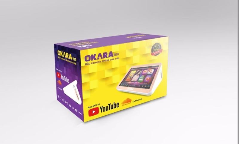 Đầu Karaoke liền màn hình OKARA H10 kèm ổ cứng full bài hát bản quyền
