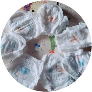 50 miếng bỉm quần trần xuất nhật hana đủ size thumbnail