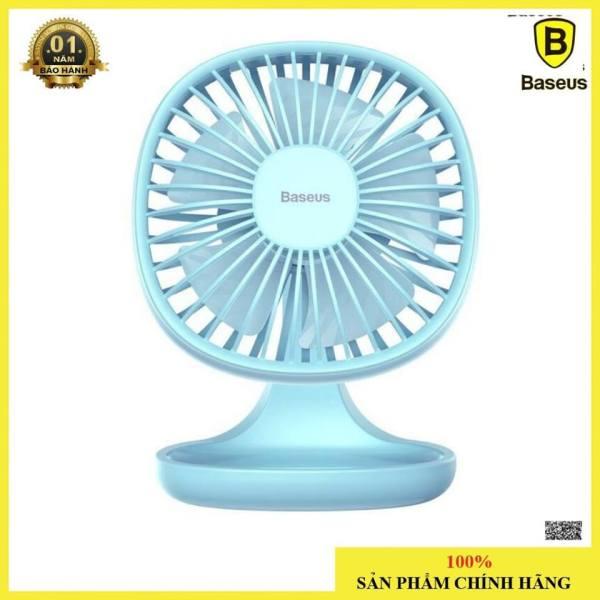 Quạt mini để bàn Baseus Pudding-Shaped Fan ( 3 mức tốc độ - Mini USB Air Cooling Fan Clip Desk Fan)