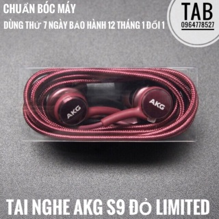 Tai nghe Akg S9 màu đỏ bóc máy, sản phẩm đa dạng về mẫu mã kích thước, đảm bảo chất lượng tốt, an toàn sức khỏe người dùng, vui lòng inbox để được tư vấn thumbnail