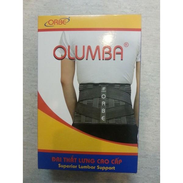Đai Lưng Olumba Orbe Cao Cấp Hỗ Trợ Cột Sống, Thoát Vị Đĩa Đệm cao cấp