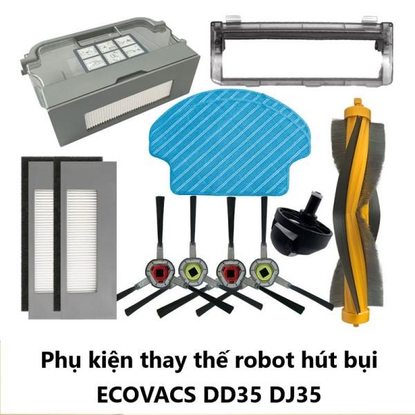 Phụ kiện chổi cạnh robot hút bụi lau nhà ECOVACS Deebot DD35 DJ35-T Family Mart