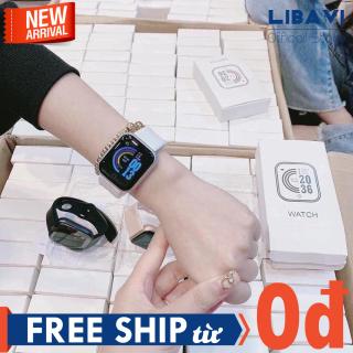 Đồng hồ thông minh Smart Watch Y86 dây Silicon bền bỉ nhiều chức năng, có chống nước bảo hành đồng hồ 6 tháng thumbnail