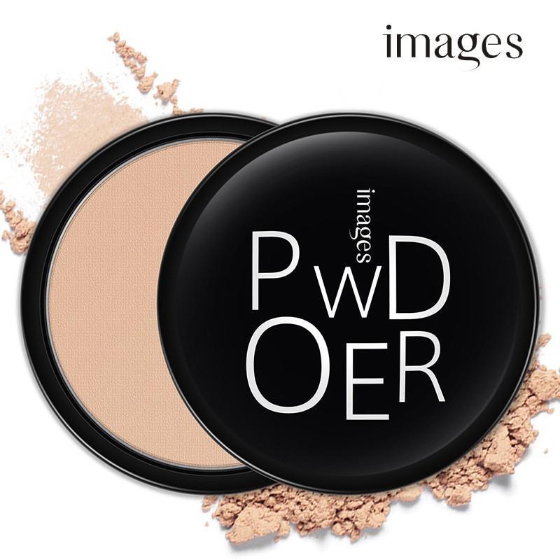 Phấn phủ kiềm dầu siêu mịn IMAGES Powder Smooth Skin cake phấn phủ dạng nén lâu trôi phấn nội địa Trung IW-PP055