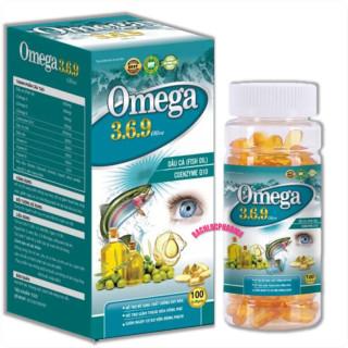 Viên uống dầu cá Omega 3.6.9 Oliver phòng ngừa bệnh tim mạch và tai biến tim mạch, cân bằng huyết áp, béo phì, bảo vệ tim mạch, ngăn ngừa các bệnh ung thư, làm đẹp da thumbnail
