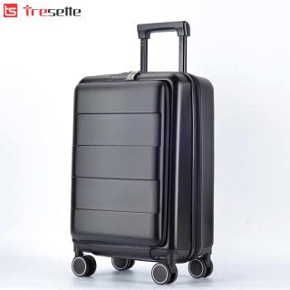 Vali khóa kéo siêu bền Tresette nhập khẩu Hàn Quốc TSL- 891520BK 20 inch thumbnail