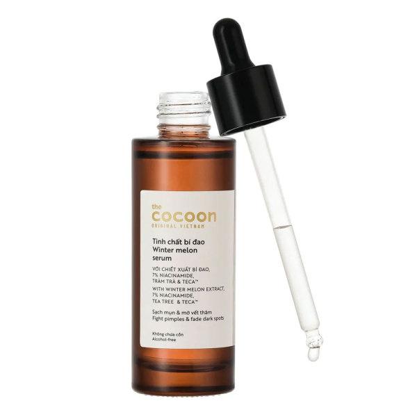 [HCM]Tinh chất bí đao cocoon 70ml ngừa mụn sạch dầu nhờn sáng da
