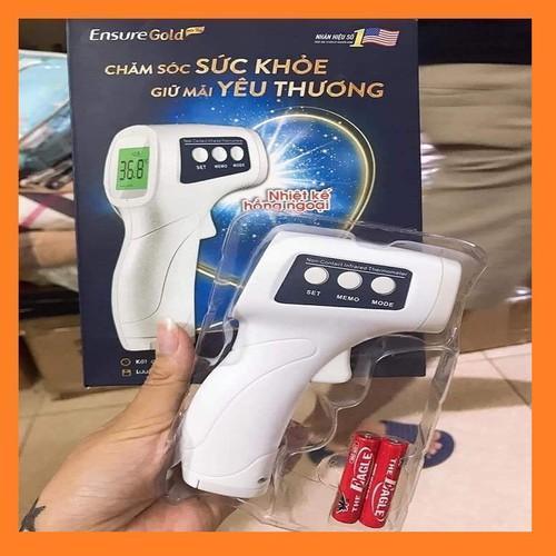 Nhiệt kế hồng ngoại thông minh đo tai, trán, nước.. Infrared Thermometer ( quà tặng Ensure Gold kèm pin) bán chạy
