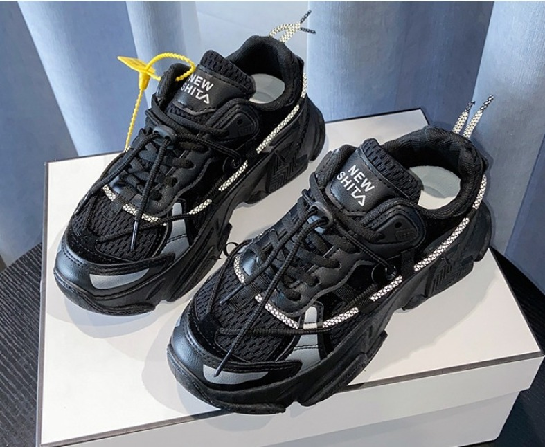 Giày Thể Thao Nam Nữ Dây Phản Quang Sneaker Nữ Ulzzang Đế Cao Hàng Cao Cấp Limited giá rẻ
