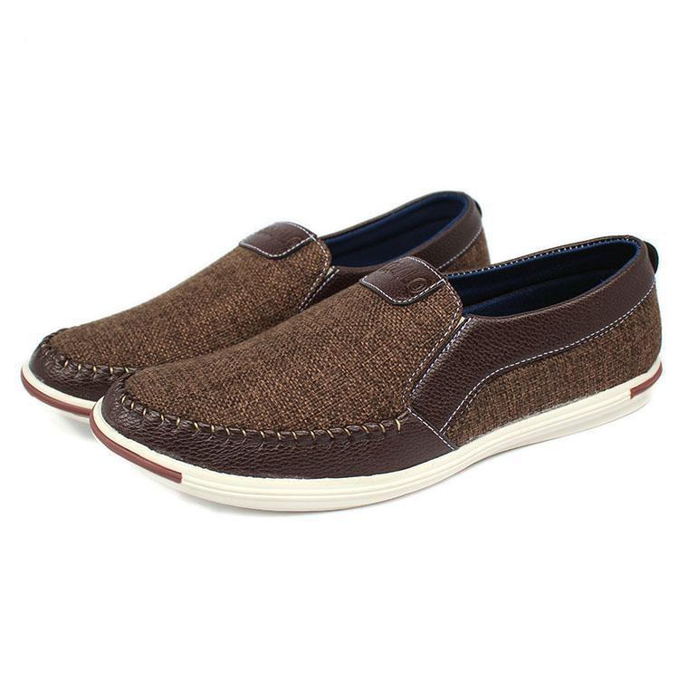 Giày lười nam - giày lười nam vải bô X86fashion-VB01
