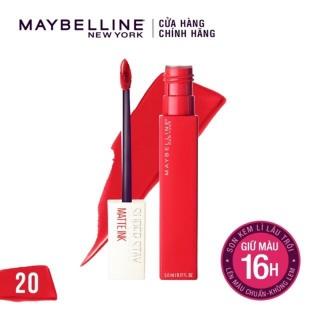Son Kem Lì Maybeline New York Superstay Matte ink 20 Pioneer 5ml thumbnail