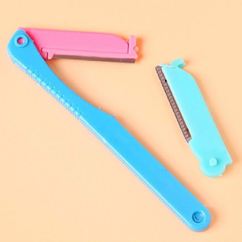 Bộ dao cạo lông mày tiện dụng 2 lưỡi NPP