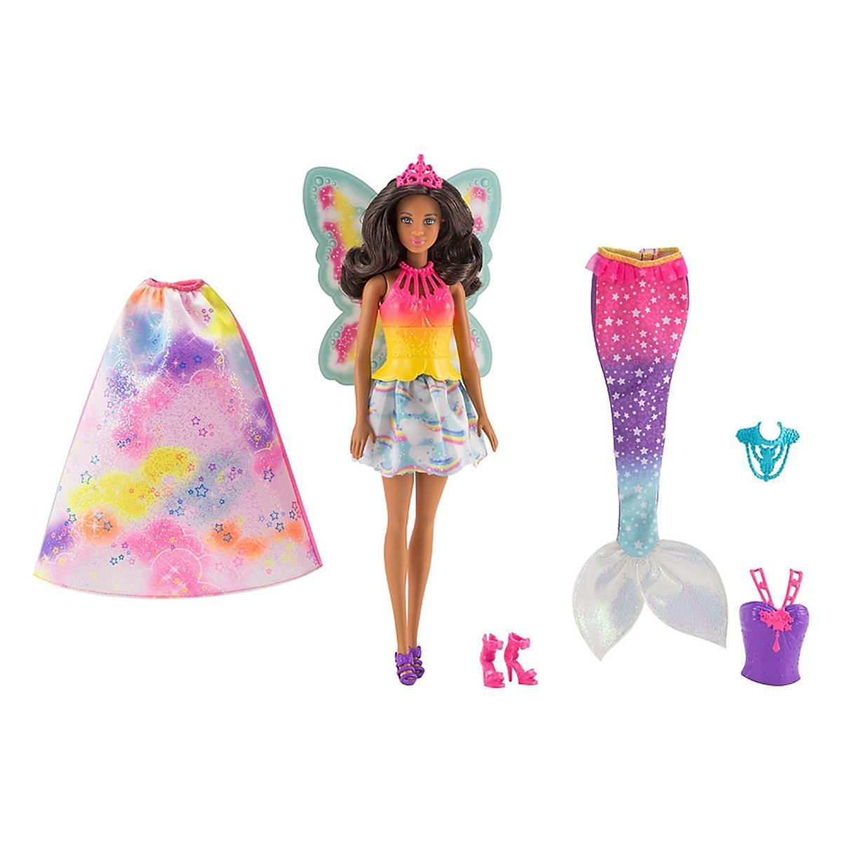 Voucher Khuyến Mại Đồ Chơi Búp Bê Thần Tiên Và Bộ Phụ Kiện Barbie FMV91 - Mẫu Ngẫu Nhiên