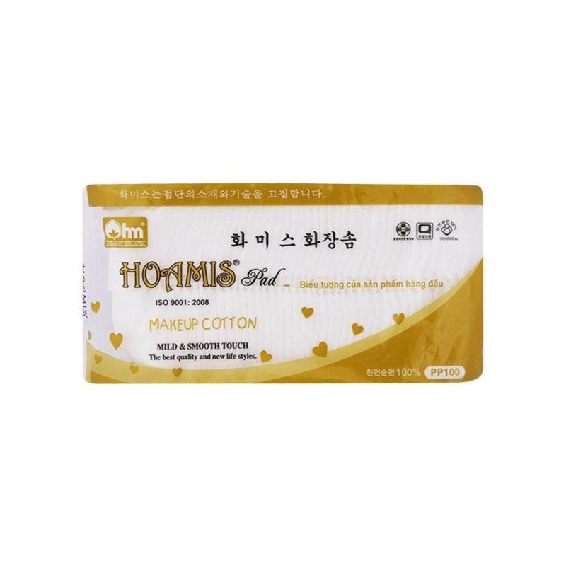 Bông Tẩy Trang Cao Cấp Korea PP 100 Hoamis - Gói 90 Miếng cao cấp