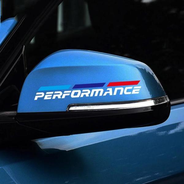 Tem dán gương chiếu hậu ô tô Performance 02 (trắng)