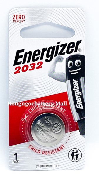 Pin CR2032 Energizer Lithium 3V 1 Viên - Hàng Chính Hãng