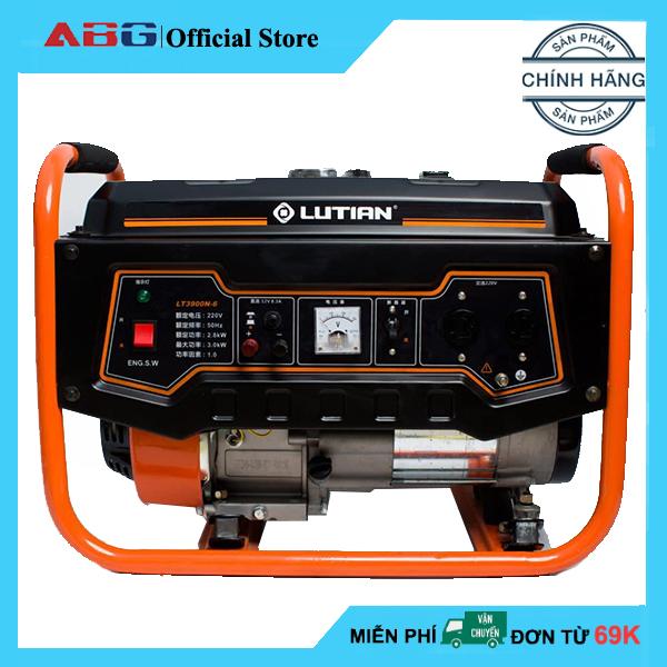 Máy Phát Điện Lutian LT3900N-6 Công Suất 3.0 Kw – Máy Phát Điện Chạy Xăng Khởi Động Đề Nổ Và Giật Tay