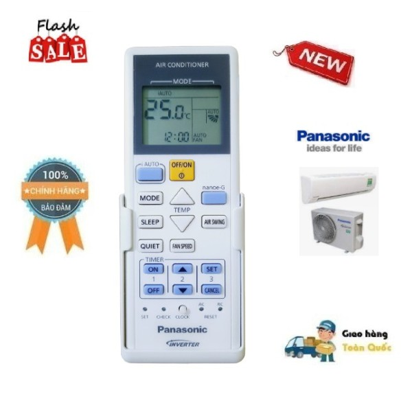 Bảng giá Remote Điều khiển điều hòa Panasonic Panasonic CS-YZ12SKH-8//YZ9SKH-8- Hàng chính hãng-Điện tử Alex