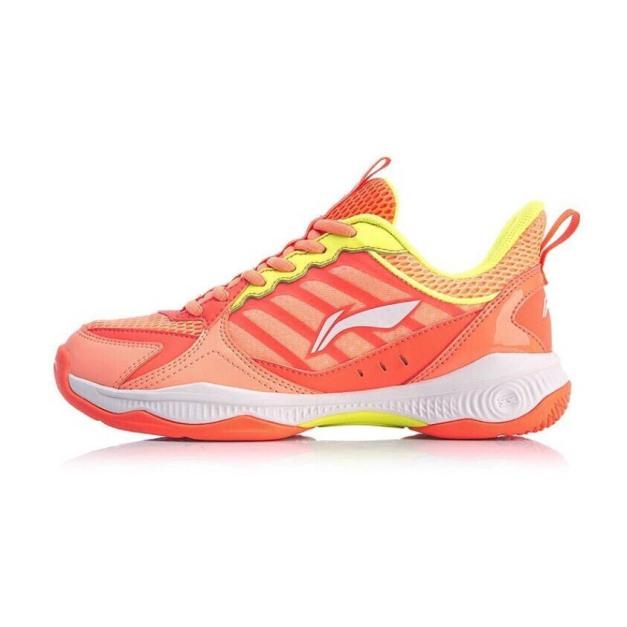 Giày cầu lông nữ LI-NING AYTQ028 giày đế kếp chống trơn trượt tuyệt đối chơi được sân gạch hoa-giày thể thao nam nữ-giày đánh bóng chuyền nữ giá rẻ