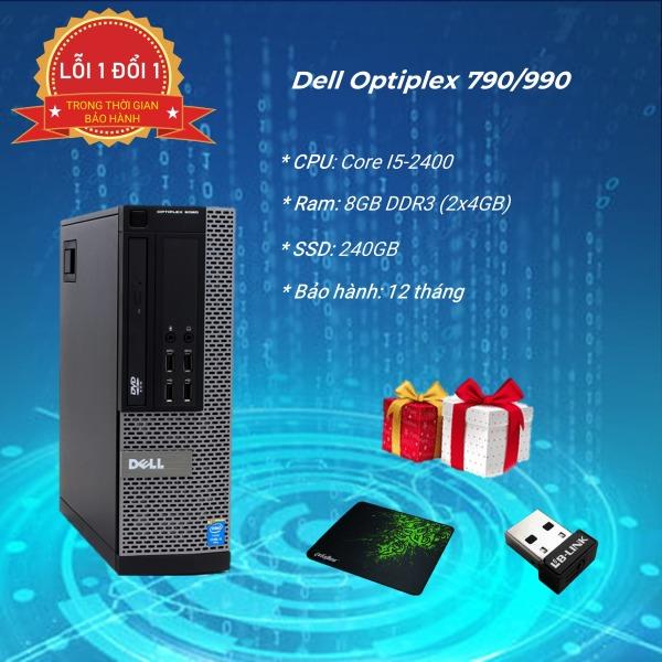 Bảng giá máy tính văn phòng Dell Optiplex 790/990 core i5 2400, ram 8GB , SSD 240GB Phong Vũ