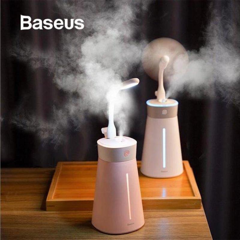 Máy phun sương, tạo ẩm, lọc không khí Baseus Slim Waist humidifier (380ml, USB 5V, Ultrasonic Air Diffuser/ Humidifier