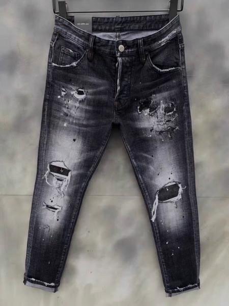 Quần jean nam vảy sơn cao cấp dsq hàng quảng châu vải mềm co dãn chuẩn shop PN FASHION kv5